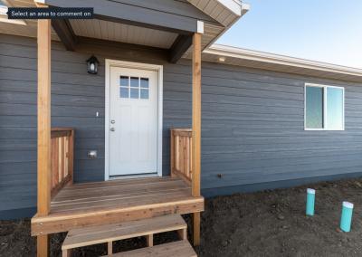 New Build home exterior